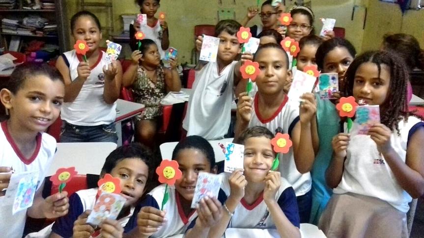 """Escolas da Rede Municipal vivenciam o """"Dia Internacional daMulher"""""""