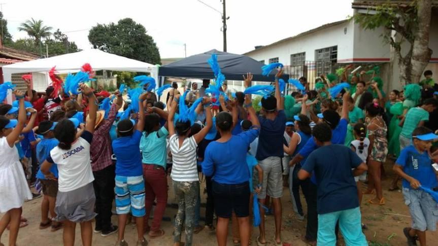 Gincanas nas escolas encerram comemorações para osestudantes