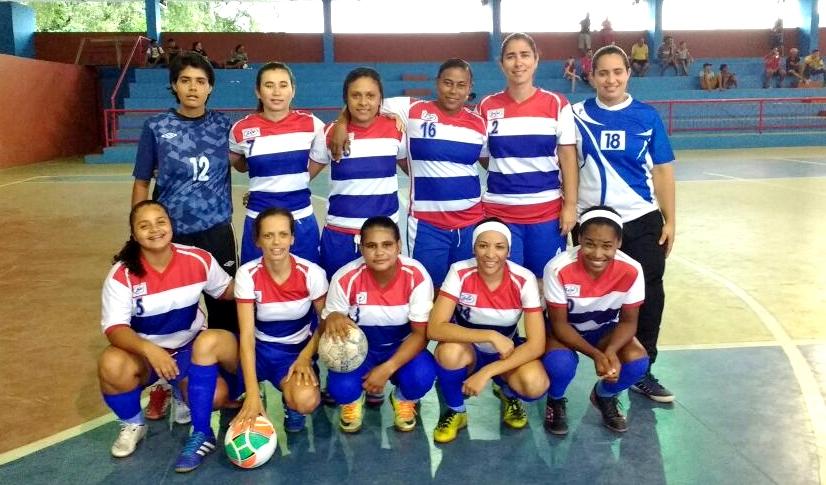 Equipe feminina de futsal escadense se classifica parafinal