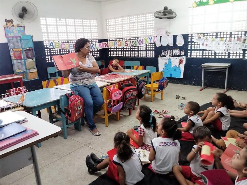 Escolas da Rede Municipal fortalecem o estímulo àleitura
