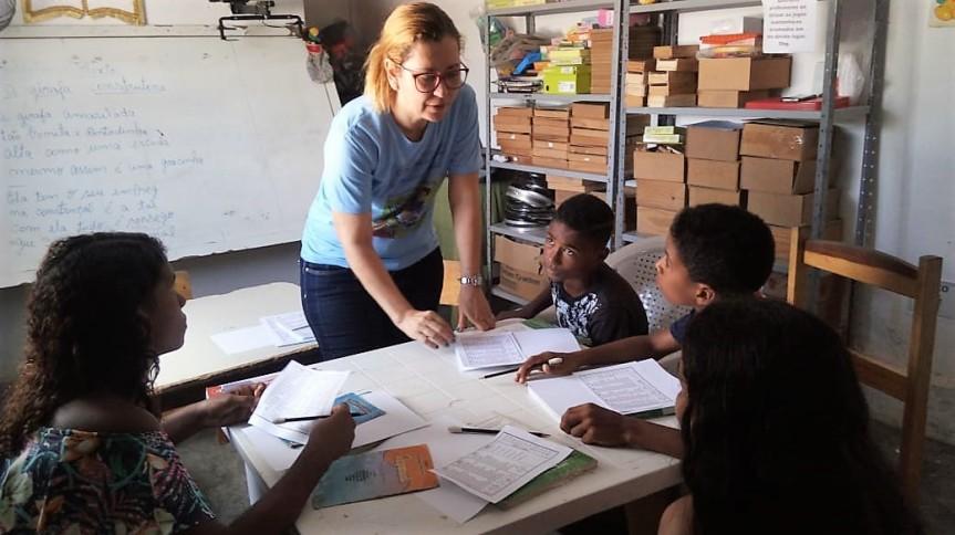 Projeto em Frexeiras estimula leitura, escrita eraciocínio