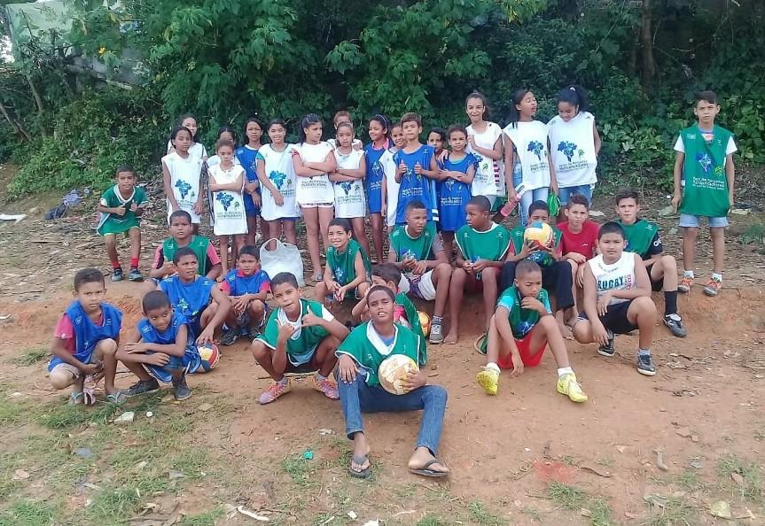 Esporte contribui para melhorar a frequência dosalunos