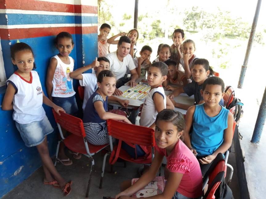 Várias atividades que marcaram esta terça-feira (22) nas escolas domunicípio