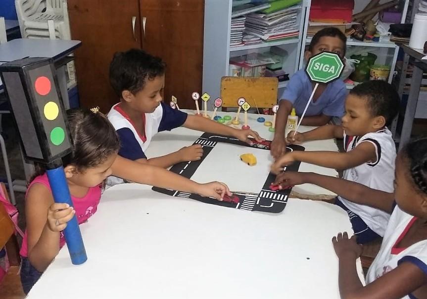 Escolas do município intensificam educação para otrânsito