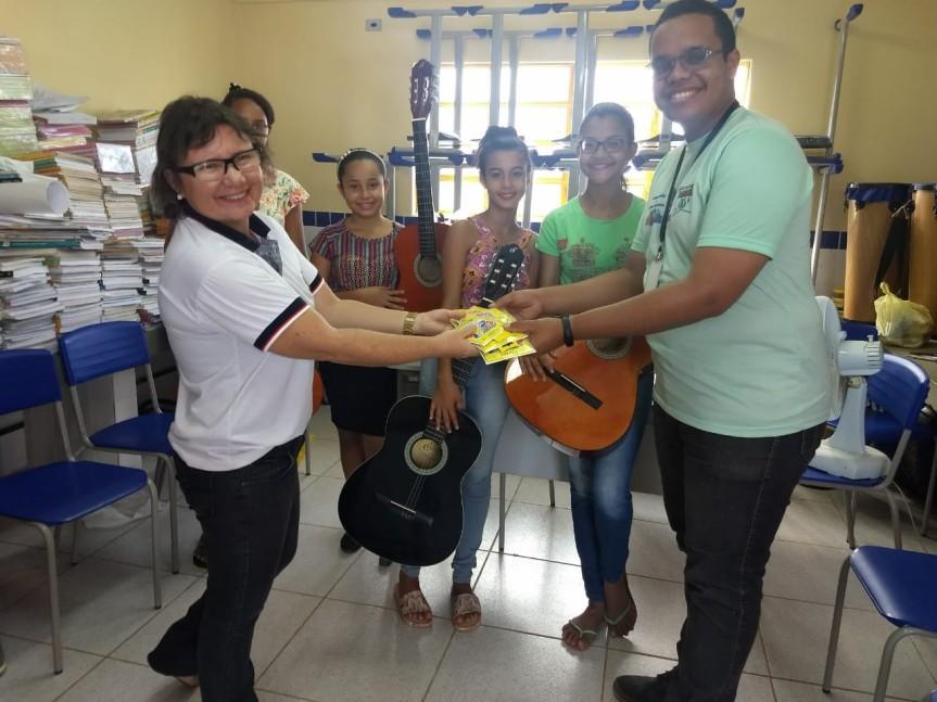 Escola Cícero Dias incentiva aprendizagemmusical
