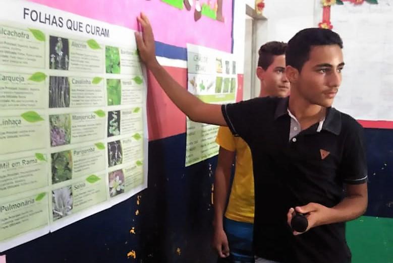 Escola Pe. Geraldo conclui trabalho de pesquisa nacomunidade
