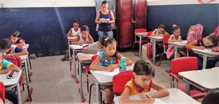 Turmas de 1º e 2º anos realizam avaliações finais doPMALFA