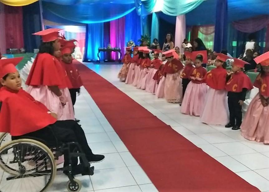 Escola Maria José Lucas conclui 2018 com Cerimônia deFormatura