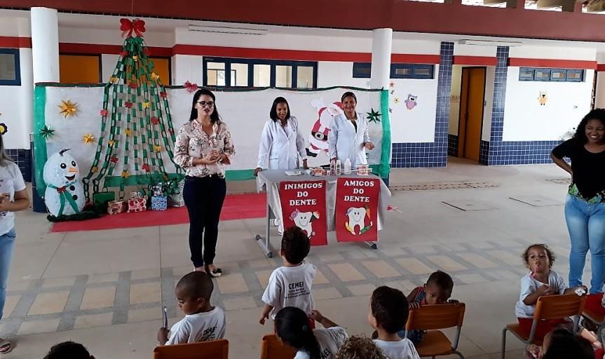 Saúde bucal motiva palestra no CEMEI EsmeraldaReis