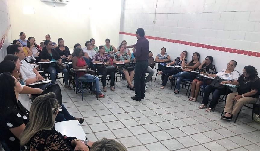 Gestores participam da primeira reunião 2019 com aSEDUC/Escada
