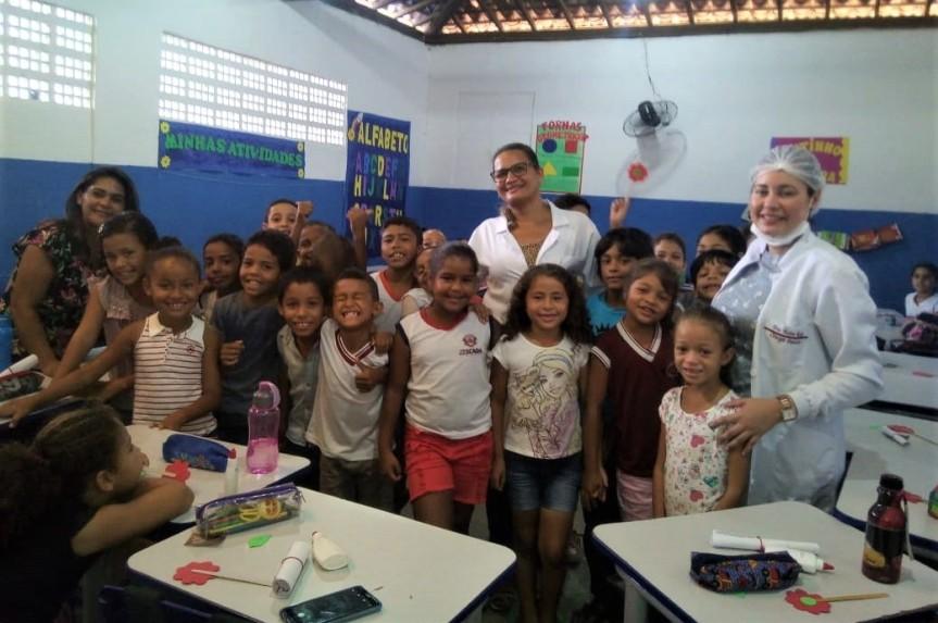 Saúde e Educação unidas na Escola TancredoNeves