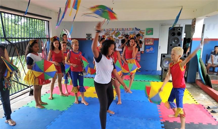 Escolas municipais vivenciam o CarnavalPernambucano