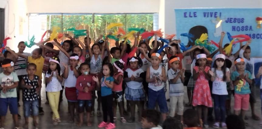 Reflexões e releituras marcam semana nas escolas depois daPáscoa