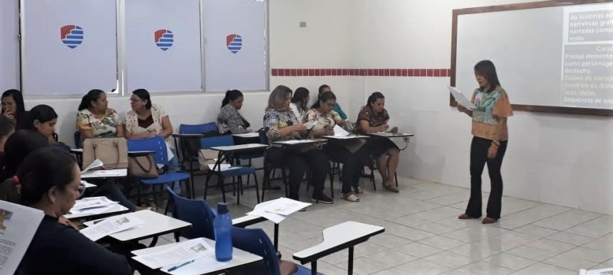 Formações avaliam ensino de Matemática e Língua Portuguesa nos AnosIniciais