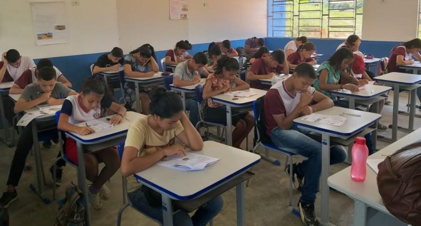 Estudantes concluem as Avaliações Simuladas em LínguaPortuguesa