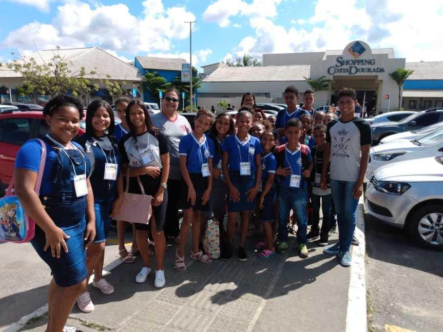Estudantes da Usina Barão estreiam visita aocinema