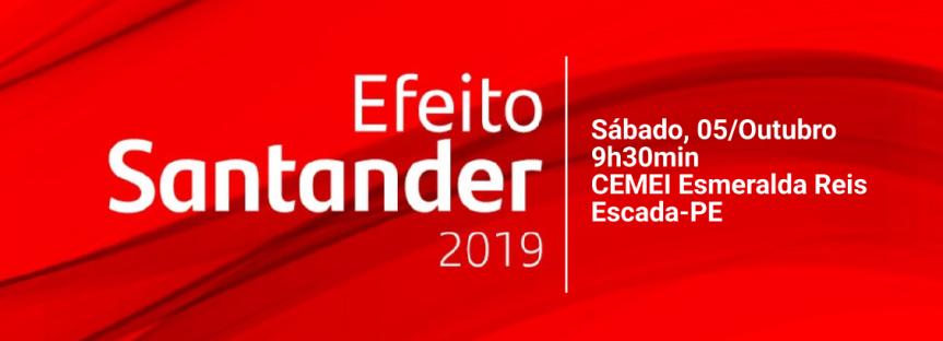 """Efeito Santander"" abraça Projeto Flauta nasEscolas"