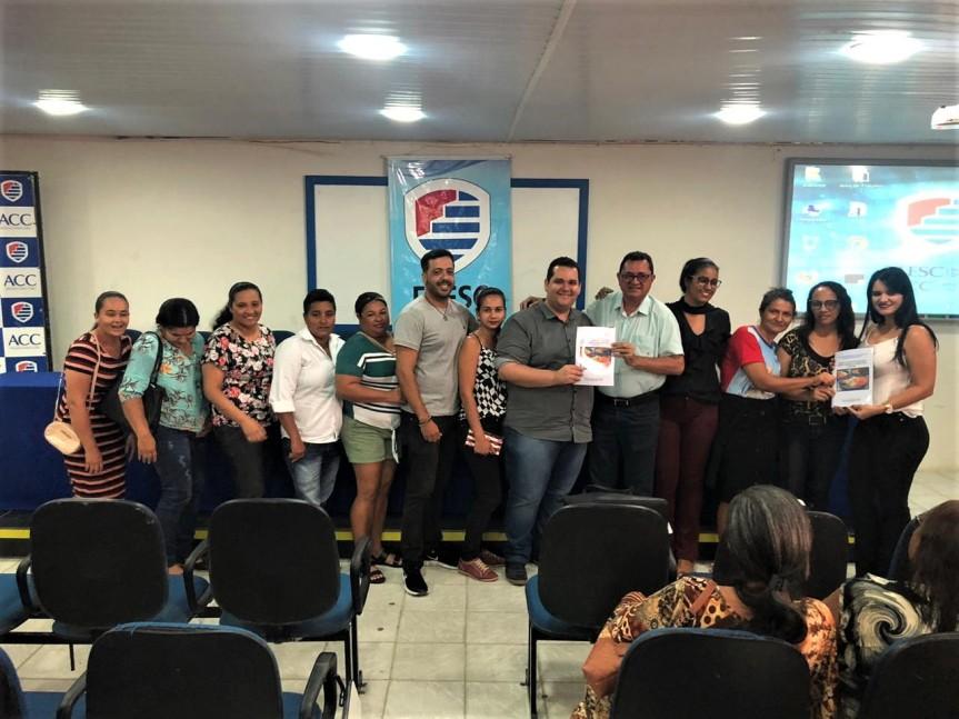 Formação reúne gestores e merendeiras da RedeMunicipal