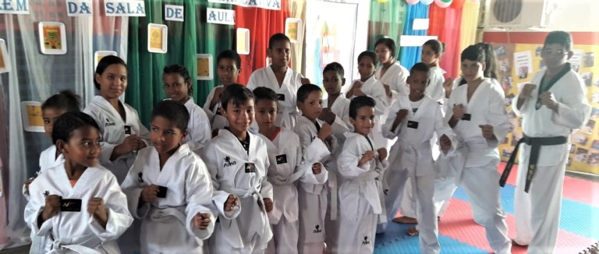 Novo Mais Educação faz sucesso na Escola OrestesChaves