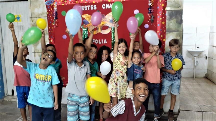 Escolas do município recebem estudantes no primeiro dia de aula2020