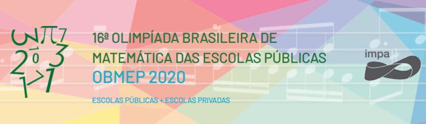 16ª Olimpíada Brasileira de Matemática já tem inscriçõesabertas
