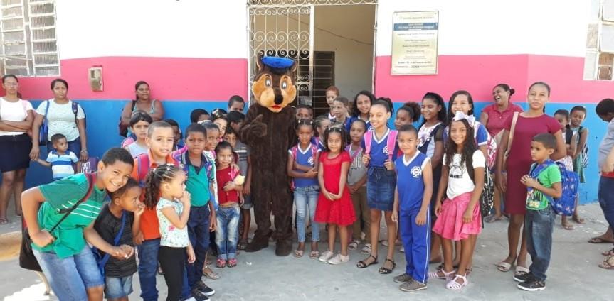 Recomeço pós-carnaval teve alegria e muito afeto nas escolas domunicípio