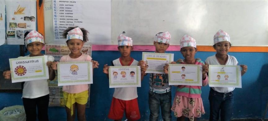Escolas do município de Escada se unem na prevenção aoCoronavírus