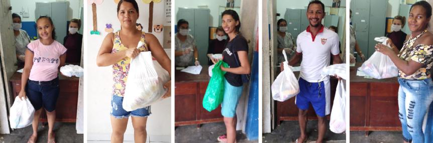 1.800 kits de gêneros alimentícios do PNAE são distribuídos emEscada