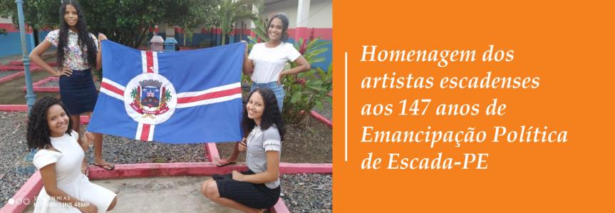 Artistas fazem homenagem aos 147 anos deEscada