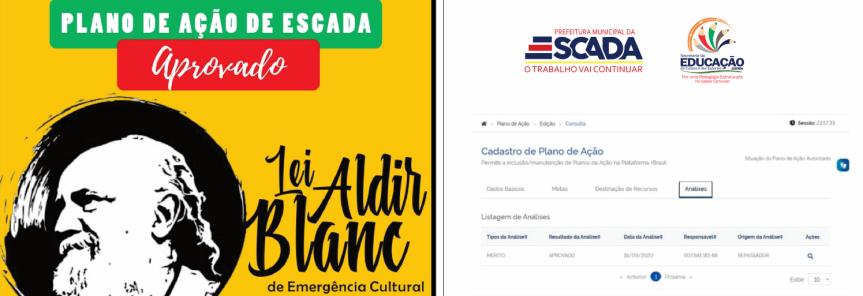 Plano de Ação da Cultura/Escada é aprovado pelo GovernoFederal